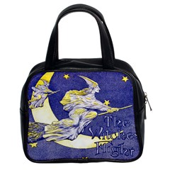 The Witches  Flight Classic Handbag (Two Sides) from Manda s Macabre Front