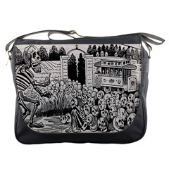 Gran Calavera Electrica Messenger Bag from Manda s Macabre Front