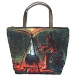 Witch s Whirl Waltzes  Bucket Bag from Manda s Macabre Front