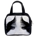 X Ray Of Bound Feet Classic Handbag (Two Sides) from Manda s Macabre Front
