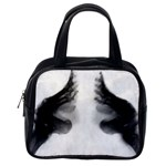 X Ray Of Bound Feet Classic Handbag (Two Sides) from Manda s Macabre Back