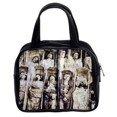 Communards In Their Coffins Classic Handbag (Two Sides) from Manda s Macabre Front