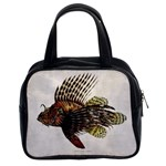 Vintage Lionfish Classic Handbag (Two Sides) from Manda s Macabre Front