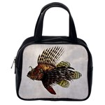Vintage Lionfish Classic Handbag (Two Sides) from Manda s Macabre Back