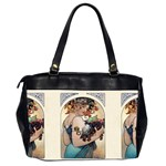Fruit by Alfons Mucha 1897 Oversize Office Handbag (Two Sides) from Manda s Macabre Back