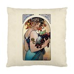 Fruit by Alfons Mucha 1897 Cushion Case (Two Sides) from Manda s Macabre Front