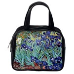 Irises by Vincent van Gogh 1898 Classic Handbag (Two Sides) from Manda s Macabre Back