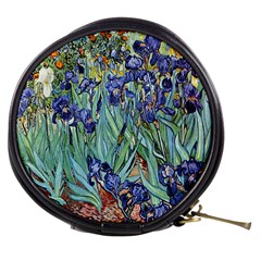 Irises by Vincent van Gogh 1898 Mini Makeup Bag from Manda s Macabre Front