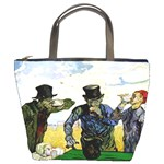 The Drinkers By Vincent Van Gogh 1890 Bucket Bag