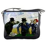 The Drinkers By Vincent Van Gogh 1890 Messenger Bag