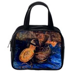 A Pair Of Shoes By Vincent Van Gogh 1887 Classic Handbag (Two Sides) from Manda s Macabre Back