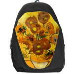 Vase With Fifteen Sunflowers By Vincent Van Gogh 1888 Backpack Bag