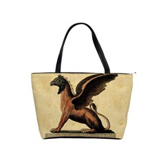 Mythology Educational Plate Classic Shoulder Handbag from Manda s Macabre Front