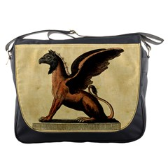 Mythology Educational Plate Messenger Bag from Manda s Macabre Front