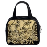 Dance Of Death By Michael Wolgemut 1493 Classic Handbag (Two Sides) from Manda s Macabre Front