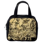 Dance Of Death By Michael Wolgemut 1493 Classic Handbag (Two Sides) from Manda s Macabre Back