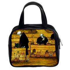The Garden Of Death By Hugo Simberg 1896 Classic Handbag (Two Sides) from Manda s Macabre Front