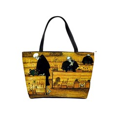 The Garden Of Death By Hugo Simberg 1896 Classic Shoulder Handbag from Manda s Macabre Front