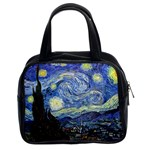 Starry Night By Vincent Van Gogh 1889 Classic Handbag (Two Sides)