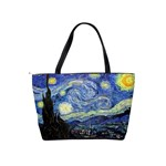 Starry Night By Vincent Van Gogh 1889 Classic Shoulder Handbag from Manda s Macabre Back