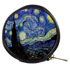 Starry Night By Vincent Van Gogh 1889 Mini Makeup Bag from Manda s Macabre Front