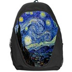 Starry Night By Vincent Van Gogh 1889 Backpack Bag