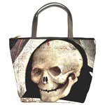 The Crucifixion By Fra Angelico 1420 Bucket Bag from Manda s Macabre Front