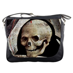 The Crucifixion By Fra Angelico 1420 Messenger Bag from Manda s Macabre Front