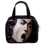 The Head Of The Medusa By Michelangelo Caravaggio 1590 Classic Handbag (Two Sides) from Manda s Macabre Front