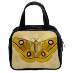 Vintage Moth Classic Handbag (Two Sides) from Manda s Macabre Front