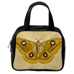 Vintage Moth Classic Handbag (Two Sides) from Manda s Macabre Back