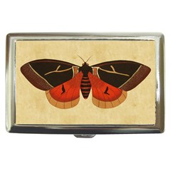 Vintage Moth  Cigarette Money Case from Manda s Macabre Front