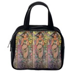 Die Rose By Alfons Mucha 1898 Classic Handbag (Two Sides) from Manda s Macabre Back