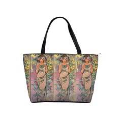 Die Rose By Alfons Mucha 1898 Classic Shoulder Handbag from Manda s Macabre Front