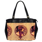 Donna Orechini By Alphonse Mucha Oversize Office Handbag (Two Sides) from Manda s Macabre Front