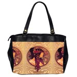 Donna Orechini By Alphonse Mucha Oversize Office Handbag (Two Sides) from Manda s Macabre Back