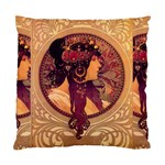 Donna Orechini By Alphonse Mucha Cushion Case (Two Sides) from Manda s Macabre Back