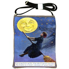 I m A Witch Shoulder Sling Bag from Manda s Macabre Front