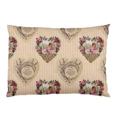Vintage Valentine Pillow Case from Manda s Macabre 26.62 x18.9  Pillow Case