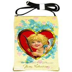 To My Valentine Shoulder Sling Bag from Manda s Macabre Front