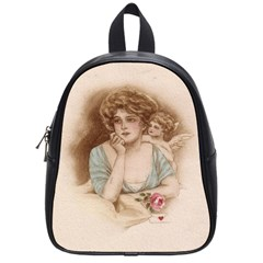 Vintage Valentine School Bag (Small) from Manda s Macabre Front