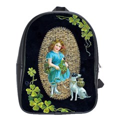 Vintage St Patrick s School Bag (Large) from Manda s Macabre Front