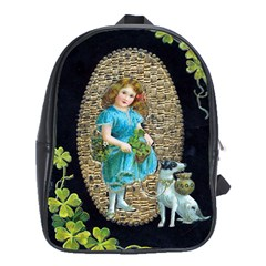 Vintage St Patrick s School Bag (XL) from Manda s Macabre Front