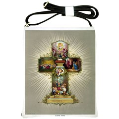 Easter Cross Shoulder Sling Bag from Manda s Macabre Front