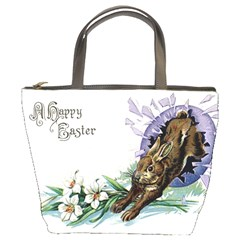 Victorian Easter Bucket Bag from Manda s Macabre Front