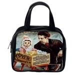 Babbitt s Soap Powder Classic Handbag (Two Sides) from Manda s Macabre Back