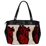 Human Heart Oversize Office Handbag (Two Sides) from Manda s Macabre Back