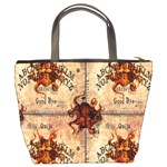 Here There Be Monsters Talking Board Bucket Bag from Manda s Macabre Back