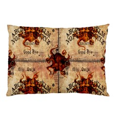 Here There Be Monsters Talking Board Pillow Case from Manda s Macabre 26.62 x18.9  Pillow Case