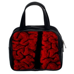 The Vintage Brain Classic Handbag (Two Sides) from Manda s Macabre Front